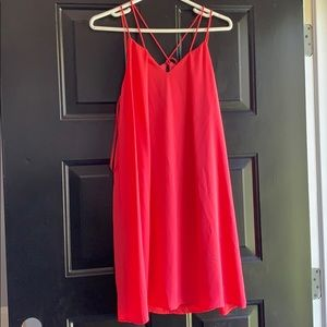She + Sky Hot Pink Dress NWOT